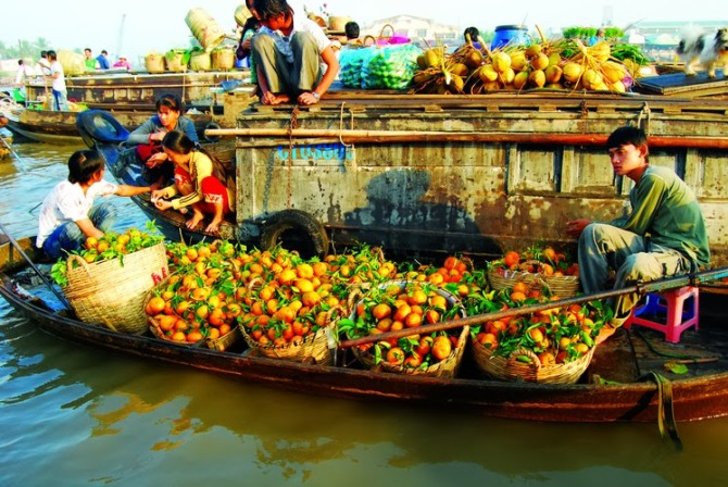 Mekong Delta to Phnom Penh-Siem Reap Tours 6 days