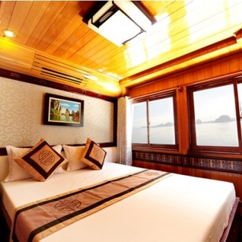 Visit Ha Long Bay 2 Days 1 Night On ALOVA GOLDEN cruise