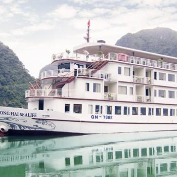 Du Lịch Hạ Long trên tàu HƯƠNG HẢI SEALIFE 5* ( 3N2Đ)