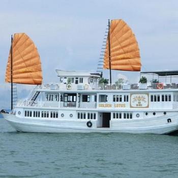 Du Lịch Hạ Long trên du thuyền GOLDEN LOTUS PREMIUM CRUISE 3* ( 3N2Đ)