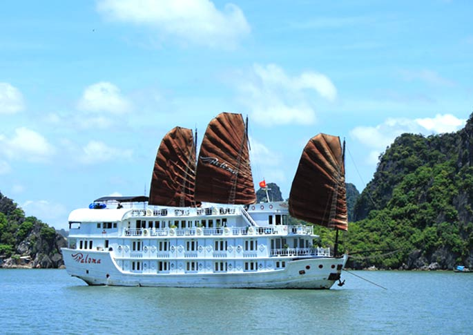 Halong Bay 2 Days – 1 Night On PALOMA Cruise