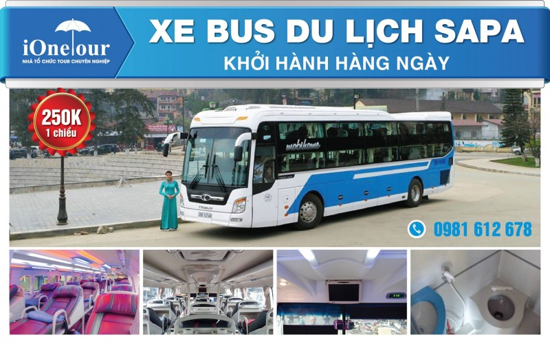 xe bus du lịch sapa