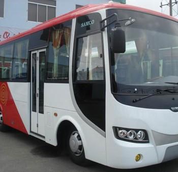 Cho thuê xe Isuzu Samco 35 chỗ giá tốt tết Âm Lịch 2015