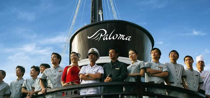 3 days 2 nights Halong Bay on ABOARD PALOMA Cruise