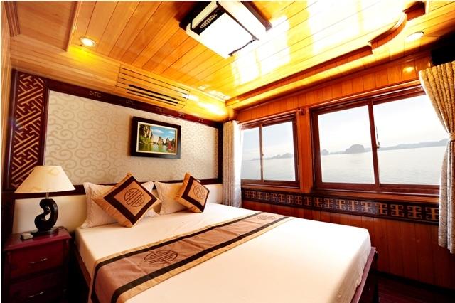 Visit Ha Long Bay 2 Days 1 Night On ALOVA GOLDEN cruise