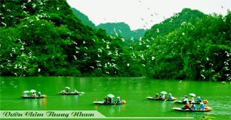 Hanoi – Tam Coc – Bich Dong pagoda – Thung Nham full day tour