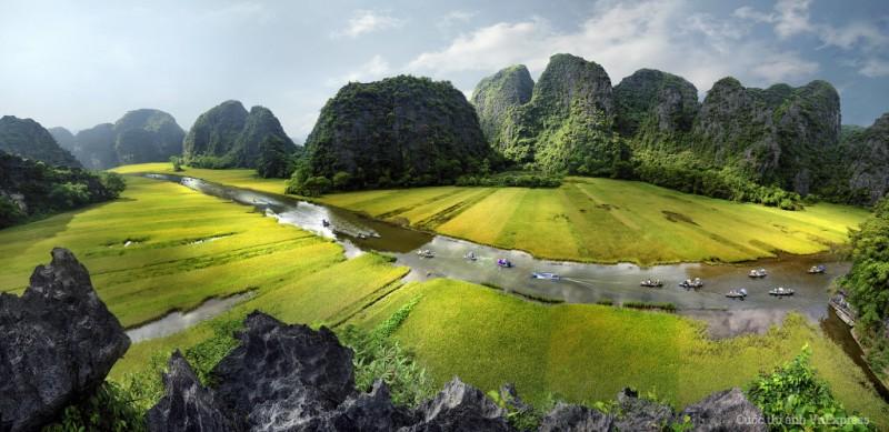 Hoa Lu –  Tam Coc full day trip