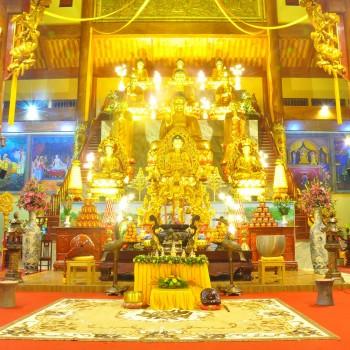 Hà Nội – Chùa Cái Bầu – Đền Cửa Ông – Chùa Ba Vàng 1 Ngày
